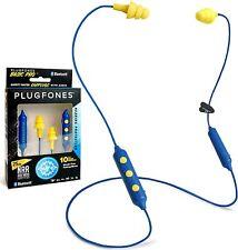 Plugfones Basic Pro Wireless Bluetooth In Ear Earplug Earbuds Noise Reduction