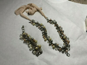 Jewel Kade Necklace and/or Bracelet Glamour Pearls (retired); past stylist inv.