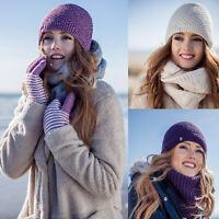 Heat Holders - Femme Fantaisie Chaud Hiver Bonnet avec Doublure Polaire