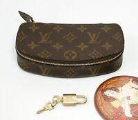 Louis Vuitton Monogram Montecarlo Pouch Zip around,Zip Around,Beauty Pouch
