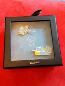 London Olympics 2012 - 2 Pin Box Set - Water Polo