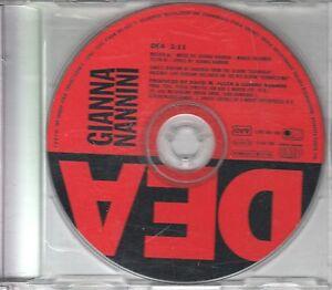 Gianna Nannini  1 TRACK PROMO CD DEA   (c) 1991