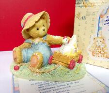Cherished Teddies Celebrating Spring With You Henry Figurine