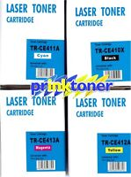FULL SET OF TONERS  COMPATIBLE  FOR HP LaserJet Pro 300,400,M375MFP,M451,M475MFP