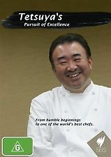 TETSUYA'S PURSUIT OF EXCELLENCE - BRAND NEW & SEALED DVD