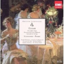 HARVEY/MARRINER/CLEOBURY/+ - ELGAR, STANFORD, PARRY 5 CD SINFONIE KLASSIK NEU