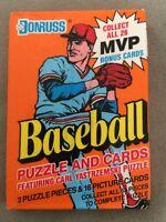 1990 Donruss Baseball Card Wax Pack Rickey Henderson HOF Athletics Showing Back