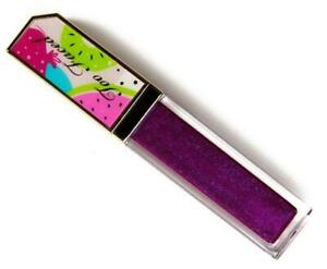 NIB TOO FACED Tutti Frutti Juicy Fruits Comfort Lip Glaze Gloss PLUM CRAZY!