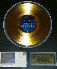 ELVIS PRESLEY IN 24 Kt. GOLD
