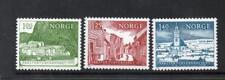 NORWAY MNH 1975 SG734-736 EUROPEAN ARCHITECTURAL HERITAGE YEAR