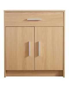 2 door 1 Drawer Sideboard Bedroom Living Room Storage Cabinet Cupboard Organiser