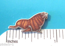 WALRUS  - hat pin , lapel pin , tie tac , hatpin  GIFT BOXED