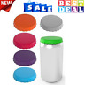 Silicone Soda Can Lids 6 pack fits standard coke cans Perfect for the Beach New
