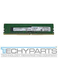 Ct4G4Rfs8213.9Fa2 Crucial 4Gb Pc4-2133P 1Rx8 Registered Ecc Dimm Memory Module