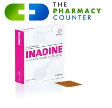 Inadine Iodine Dressing 9.5cm x 9.5cm x10