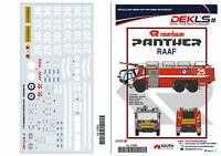 1/72 Decals - Rosenbauer Panther Fire Tender RAAF - DEKL's II