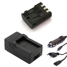 Ersatz Akku + Ladegerät für Canon Wie NB-2L BP-2L5, BP-2LH, BP-2LH, E160814