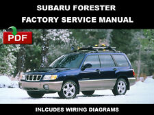 ULTIMATE SUBARU FORESTER 1998 1999 2000 2001 2002 OEM WORKSHOP REPAIR FSM MANUAL