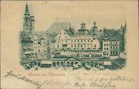 Ansichtskarte Nürnberg um 1910 Georg.-Jos. Meier Mineralwasser Fabrik  (Nr.946)