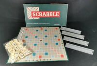 Spears Travel Scrabble Board Game complete with 4 Racks and all Tiles