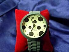 Woman's Geneva Watch with Large Face **Nice** B44-729