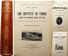 HISTOIRE/A.SAVINE/UNE CAPTIVITE+GEOLES DE PROVINCE-TERREUR+DEPORTES DE FRUCTIDOR