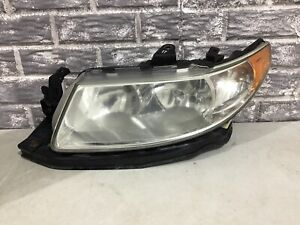 2005 2006 Saab 9-2x Headlight Halogen Left (driver Side) 7628