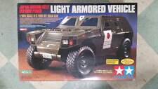 Tamiya Vintage Light Armored Vehicle Kit 1/10 TH Scale Mint With Bearings