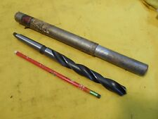 """NEW 2 MORSE TAPER SHANK 47/64"""" x 10"""" DRILL BIT drilling tool MICHIGAN DRILL USA"""