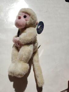 Coca Cola Bean Bag Plush Key Key the Snow Monkey