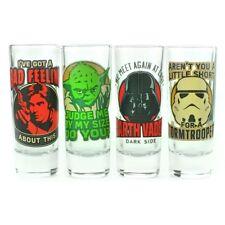 Star wars-classique de guillemets shot glass set