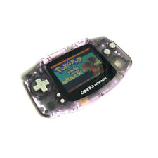 Transparent Purple Game Boy Advance w/ AGS-101 Brighter Backlight Screen