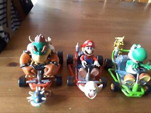 RARE Mario Kart 64 Toy Biz 3 figurines très bonne état