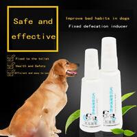 Dog Potty Training Aid Puppy Cat Pet Toilet Training Spray 60ML L4Z8