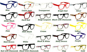 Large Frame Classic Fashion Unisex Colourful Reading Glasses in 25 Colours TN49