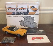 LIMITED EDITION 1970 PONTIAC GTO JUDGE CONVERTIBLE GMP 1/24 #1627/3500