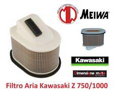 """K2160 - Filtro Aria """"MEIWA"""" tipo Originale per KAWASAKI Z 750 dal 2004 >2006"""