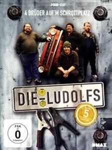 Die Ludolfs - 4 Brüder auf'm Schrottplatz - Staffel 5 - [3 DVDs] gebr.-gut
