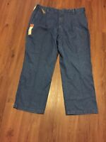 Haggar Mens Jeans 44x30 Pleated Big And Tall New Comfort Waist Work To Weekend