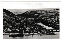 Ansichtskarte Bingen am Rhein und Nahemündung - Ortspanorama - schwarz/weiß