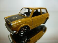 MEBETOYS A-58 A58 AUTOBIANCHI A112 ABARTH - MUSTARD 1:43 - GOOD CONDITION