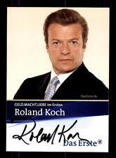 Roland Koch Geld Macht LIEBE Autogrammkarte Original Signiert # BC 66759
