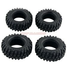 "4pcs RC 1/10 Scale Rubber TRUCK 1.9"" Tires 108mm For ROCK CRAWLER Wheels W/ Foam"
