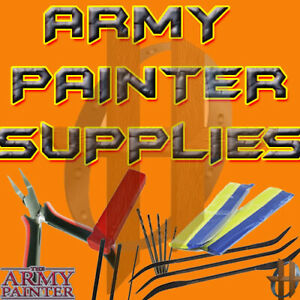 Army Painter Miniature & Model Tools - Green Stuff, Glues, Drill, Pliers, etc