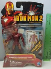 "Iron Man 2 Mark VI Figure 4"" New In Pack 2010 Movie Series 08 Marvel"