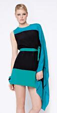 GOTTEX Kira 100% Silk Asymmetric One Shoulder Tunic BNWT