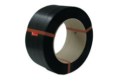 2 x PP Umreifungsband Umreifung Band 12 mm x 0,55 mm 200 mm Kern 2500 m schwarz