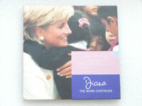 2002 Royal Mint Lady Diana 5th Anniversary BU £5 Five Pound 3 Coin Set Pack
