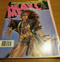 Heavy Metal Magazine July 1985 Mad Max George Miller Interview Comic Book