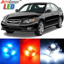 10 x Premium Xenon White LED Lights Interior Package Kit for Subaru Legacy 00-09
